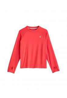 Coolibar---UV-Sports-Shirt-for-kids---Longsleeve---Agility---Prism-Pink