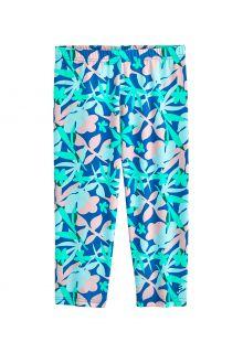 Coolibar---UV-Swim-Legging-for-girls---Wave-Capri---Marlin-Blue-Floral
