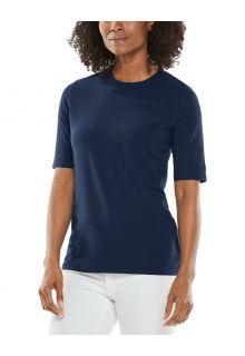 Coolibar---UV-Shirt-for-women---Morada-Everyday---Navy