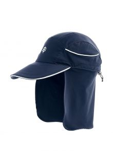 Coolibar---UV-Surf-Cap-with-neck-protection-for-adults---Eisbach---Navy