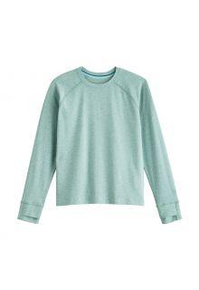 Coolibar---UV-Shirt-for-kids---Longsleeve---LumaLeo---Light-Sage