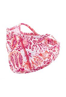 Coolibar---UV-resistant-Face-Mask-for-kids---Blackburn---Coral-Multi-Paisley