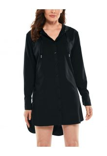 Coolibar---UV-Beach-Shirt-Cover-up-for-women---Palma-Aire---Black