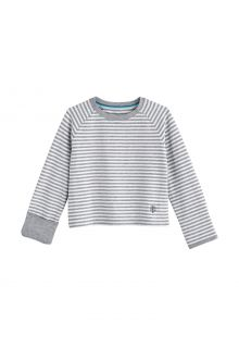 Coolibar---UV-Shirt-for-babies---Longsleeve---LumaLeo---Grey/White