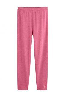 Coolibar---UV-Leggings-for-kids---Monterey---Dahlia-Pink