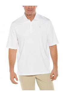 Coolibar---UV-Sport-Polo-for-men---Erodym-Golf---White