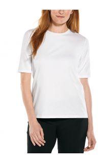 Coolibar---UV-Shirt-for-women---Morada-Everyday---White