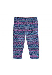 Coolibar---UV-capri-swim-leggings-for-kids---blue/pink