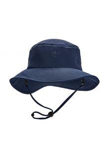 Coolibar---UV-Bucket-Hat-for-kids---Caspian---Navy