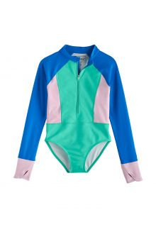 Coolibar---UV-Longsleeve-bathingsuit-for-girls---Koko---Sea-Mint