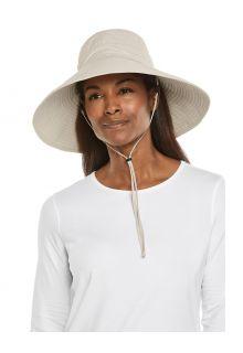 Coolibar---Wide-brimmed-UV-Beach-Hat-for-women---Cyd---Sand