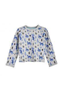 Coolibar---UV-Shirt-for-babies---Longsleeve---LumaLeo---Grey