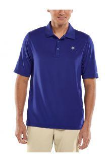 Coolibar---UV-Sport-Polo-for-men---Erodym-Golf---Midnight-Blue