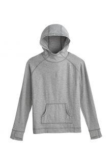 Coolibar---UV-Hooded-Pullover-for-kids---LumaLeo---Grey