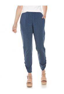 Coolibar---Casual-UV-pants-for-women---Café-Ruche---Denim-Blue