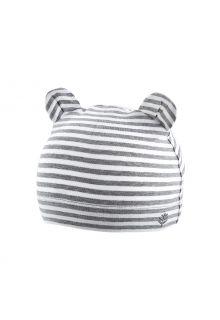 Coolibar---UV-resistant-babyhat---Critter-Fauna---Grey/White