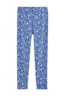Coolibar---UV-Leggings-for-kids---Monterey---True-Blue