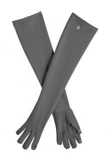 Coolibar---UV-resistant-gloves-with-long-sleeve-for-adults---Culebra---Charcoal
