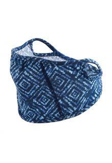 Coolibar---UV-resistant-Face-Mask-for-kids---Blackburn---Blue-Diamond