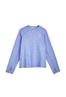 Coolibar---UV-Sports-Shirt-for-kids---Longsleeve---Agility---Aura-Blue
