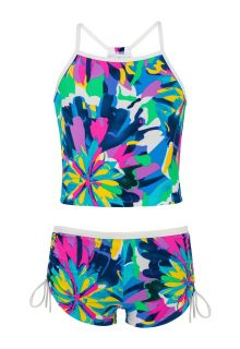Snapper-Rock---Tropical-Neon-Tankini