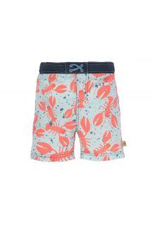 Lässig---Boys'-UV-swim-shorts-with-nappy---Lobster---blue-/-orange