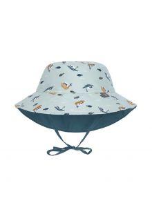 Lässig---Reversible-UV-Bucket-hat-for-babies---Boat---Mint