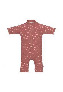 Lässig---UV-Swim-suit-for-babies---Sunsuit-Waves---Rosewood