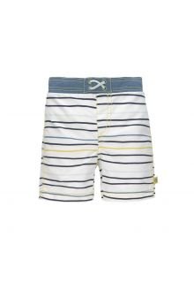 Lässig---Boys'-UV-swim-shorts-with-nappy---Stripes---multicolour