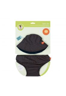 Lässig---UV-set-including-swim-diaper-and-beach-hat---Dark-blue