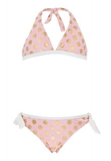 Snapper-Rock---Ballet-Pink-&-Gold-dots-Bikini