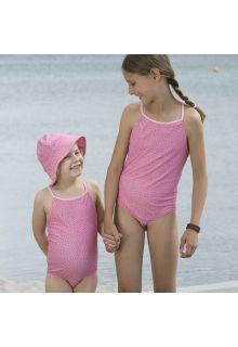 Petit-Crabe---UV-Bathing-suit---Flowers---Pink