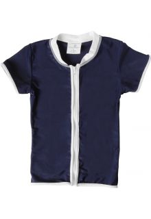 Snapper-Rock---UV-Shirt-Kids-Short-Sleeve--Navy-Zip-Thru