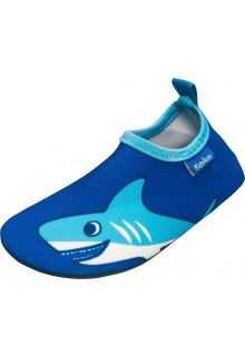 Playshoes---UV-swim-shoes-for-boys---Shark---Blue
