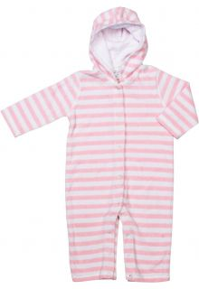 Snapper-Rock---One-Piece-infant-terrycloth-Kids-long-Sleeve--Baby-Pink-Stripe