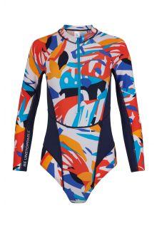 O'Neill---UV-Surf-bathingsuit-for-women---Longsleeve---Suru---AOP
