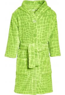 Playshoes---Fleece-bathrobe-for-boys---Dino---Green