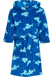 Playshoes---Fleece-Bathrobe-with-hoodie---Shark