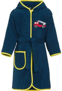 Playshoes---Bathrobe-with-hoodie-for-boys---Firetruck