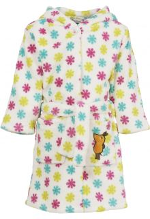 Playshoes---Fleece-Bathrobe-with-hoodie---'the-mouse'---Flowers