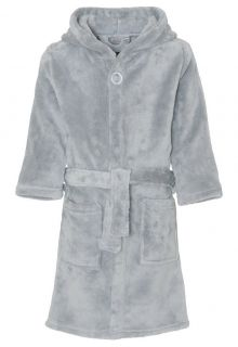 Playshoes---Fleece-Bathrobe-with-hoodie---Grey