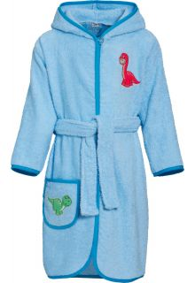 Playshoes---Bathrobe-with-hoodie-for-boys---Dino