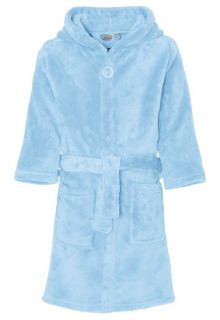 Playshoes---Fleece-Bathrobe-with-hoodie---Light-Blue