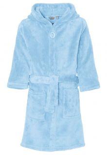 Playshoes---Fleece-Bathrobe-with-hoodie---Light-Blue