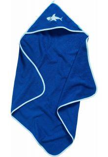 Playshoes---Bath-towel-with-hoodie---Shark