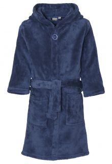 Playshoes---Fleece-Bathrobe-with-hoodie---Navy