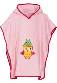 Playshoes---Baby-towel-with-hoodie---Owl