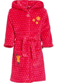 Playshoes---Fleece-Bathrobe-with-hoodie---Mouse-Pink
