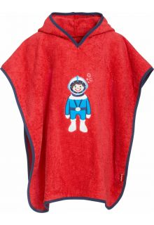 Playshoes---Baby-towel-with-hoodie---Diver