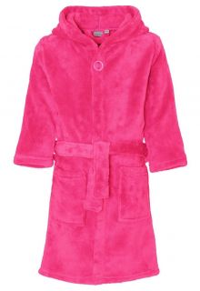 Playshoes---Fleece-Bathrobe-with-hoodie---Pink